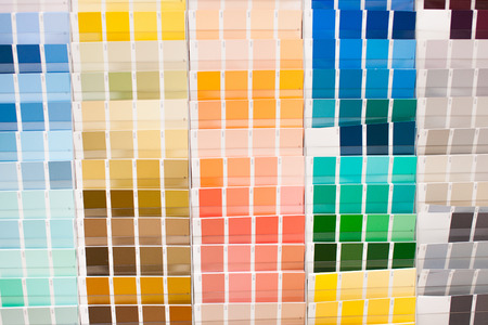 Color palette with big spectrum of colors, stock picture