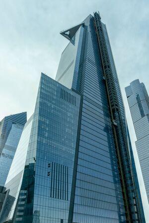Vertical image of 30 Hudson Street, part of Hudson Yards