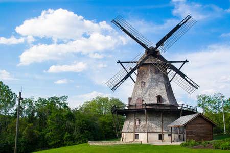 st charles: Fabyan Windmill in St. Charles IL