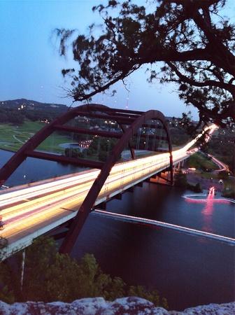 360 bridge, Lake Austin, Texas