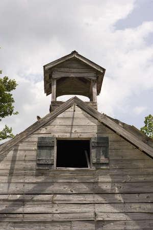 An old horse barn in South Carolina.