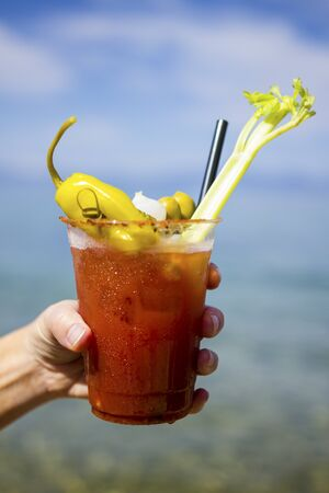 Bloody Mary at the Lake Standard-Bild