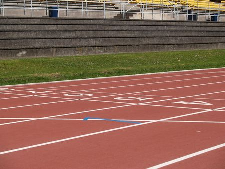 venue: Athletics track and field venue.