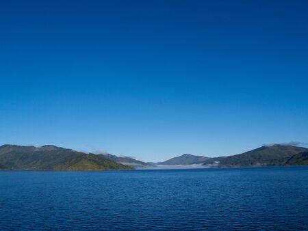 sounds: Marlborough Sounds, New Zealand, approaching Picton.