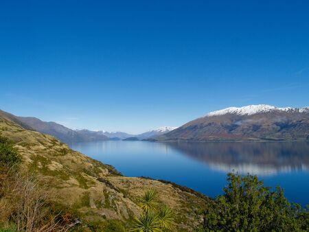 Lake Wanaka, South Island, New Zealand. photo