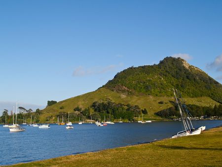 Mount Maunganui Scenis view.