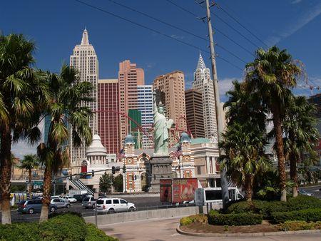 Las Vegas, Nevada, USA, August 14 2008, New  York New York Hotel and Resort.