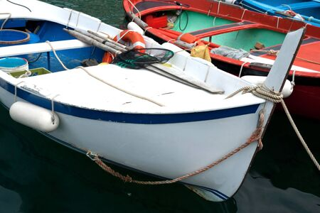Traditional Italian fishing boat. Stock Photo - 9950865
