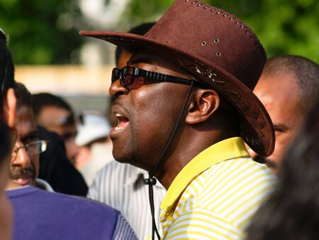 London, England, June 15, 2009: Speaker in London's Hyde Park. Stock Photo - 11044707