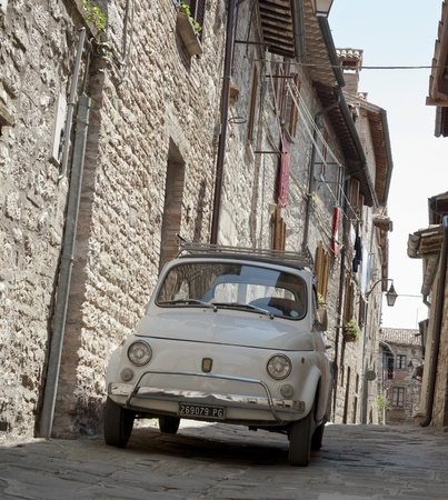 umbria: Umbria, Italy, countryside, towns & ruins. Editorial