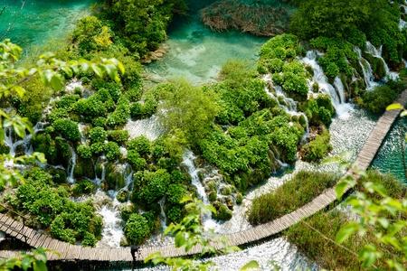 Plitvice World Heritage Site   National Park, Croatia 版權商用圖片 - 13145876