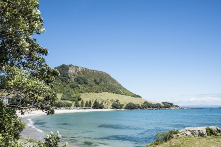 Mount Maunganui, New Zealand  Stock Photo