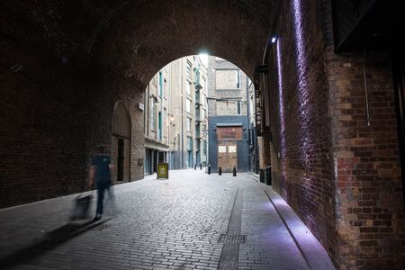 southwark: Tunnel, Clink Street, Southwark, London Editorial
