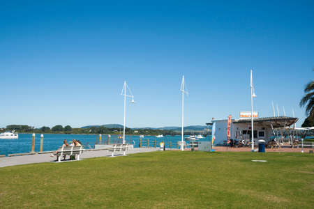 public space: Waterfront public space in Tauranga New Zealand