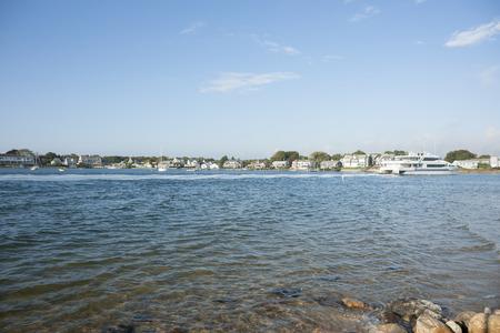 cape cod home: Homes across Cape Cod Harbour.