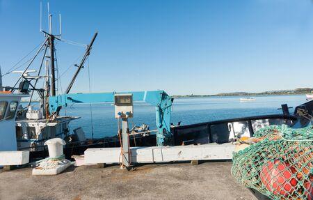 wharf: Fishing wharf, Tauranga.