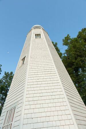twain: Mark Twain Memorial Lighthouse on Cardiff Hill Hannibal Missouri USAhistoric hometown of Mark Twain.