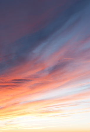 Sunset across New Mexico landscape from Sandia Peak, Albuquerque, New Mexico, USA. Banco de Imagens