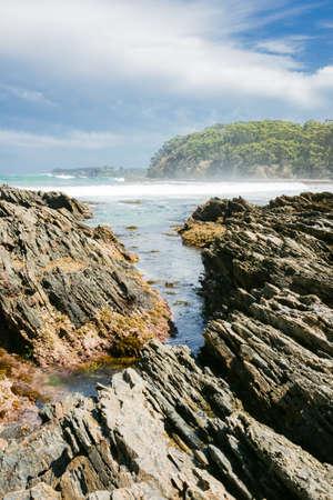 foreshore: Rocky foreshore Australia