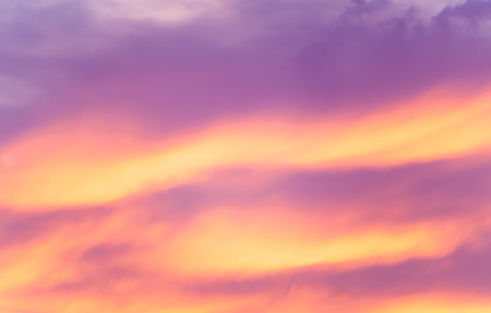 cloud formations: Sunset cloud formations