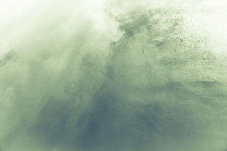 Abstract background green predominant color at famous salt flats at Gruissan, Languedoc-Roussillon, France. very well known for producing sea salt from marshes on coastline.