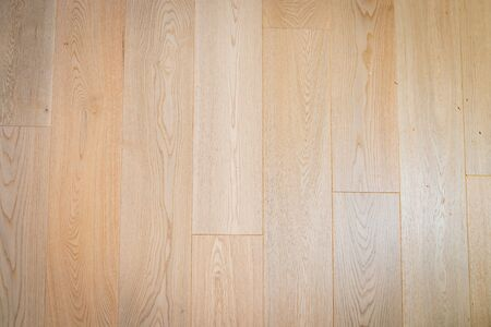 Woodgrain flooring joind planks background full frame image.