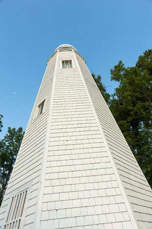 Mark Twain Memorial Lighthouse on Cardiff Hill Hannibal Missouri USAhistoric hometown of Mark Twain.