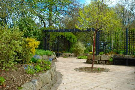 sensory: The sensory garden at Aden House Aberdeenshire