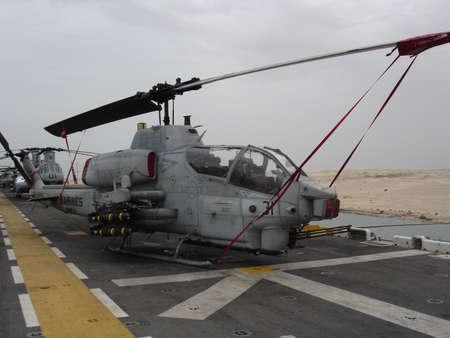AH-1 Cobra Attack Helicopter Stok Fotoğraf