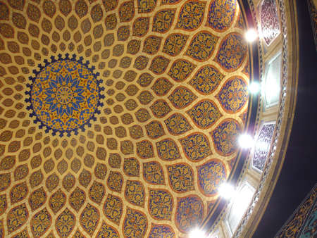 tile: Persian Architecture Tile Ceiling
