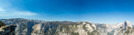 dome of the rock: Glacier Point is a viewpoint above Yosemite Valley, in California, United States. It is located on the south wall of Yosemite Valley at an elevation of 7,214 feet