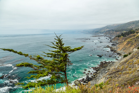The Pacific Coast Highway (State Route 1) is a major north-south state highway that runs along most of the Pacific coastline of the U.S. state of California.