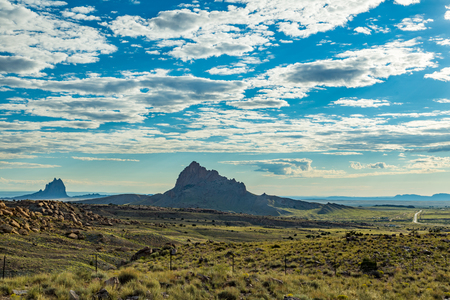 The Navajo Volcanic Field in the Four Corners area of the American southwest has about 80 old, eroded volcanic centers (volcanic necksvolcanic plugsdiatremes) of Oligocene to Miocene age.