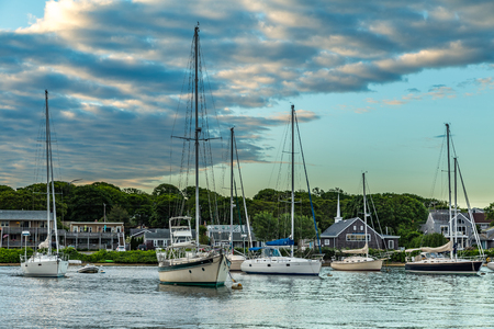 Falmouth Harbor is located on the south side of Cape Cod halfway between Newport, RI and Nantucket Island.
