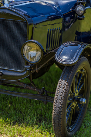 1923 Ford Model T Touring Car Фото со стока