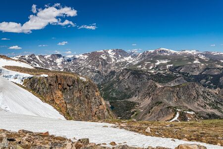 The Beartooth Highway is a section of U.S. Route 212 in Montana and Wyoming between Red Lodge and Yellowstone National Park known for its stunning views.