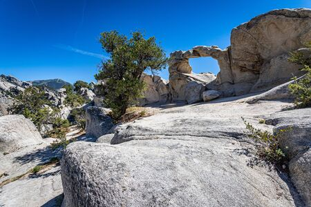 The City of Rocks in Idaho marked the halfway point of the California Trail and today offers rock climbing activities.