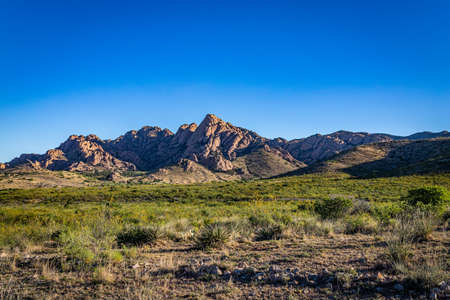 The Dragoon Mountains are a mountain range in Cochise County, Arizona near the historic town of Tombstone.