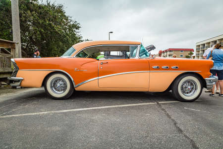 Tybee Island, GA / USA - October 14, 2017: 1956 Buick Special at a local car show.