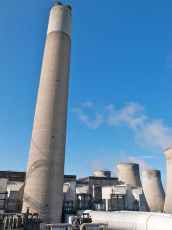 Coal fired power station Stock Photo - 9897147