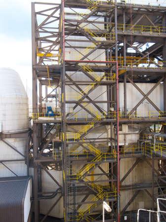steelwork: Steel staircase