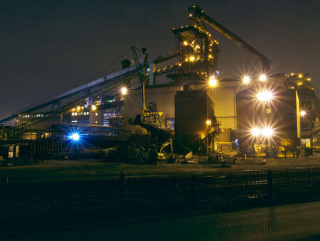 steelwork: Industry  Stock Photo