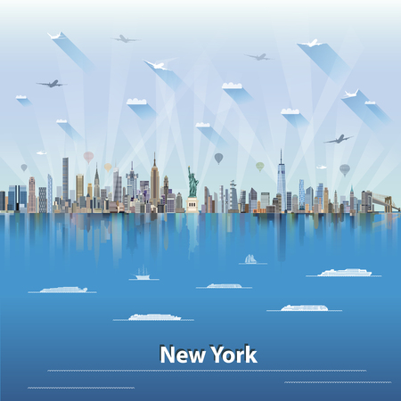 world trade center: New your illustration.