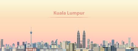 Kuala Lumpur city skyline
