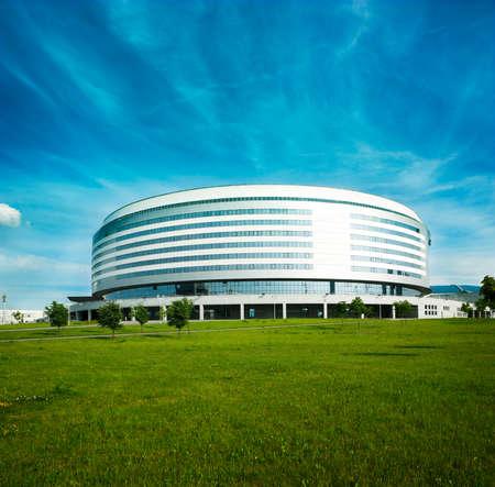 Minsk Arena in Belarus  Ice Hockey Stadium  The Venue for 2014 World Championship IIHF