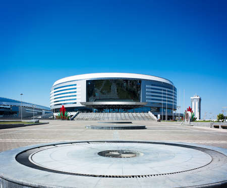Minsk Arena in Belarus  Ice Hockey Stadium  The Venue for 2014 World Championship IIHF