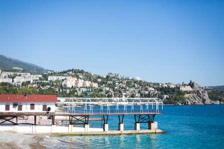 persone relax: natura attrazione Mare Citt� Crimea persone a rilassarsi