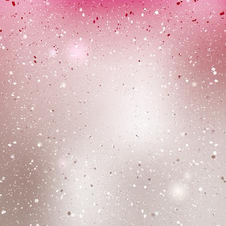Roze parel glanzende achtergrond. Wazig vector textuur. Stock Illustratie
