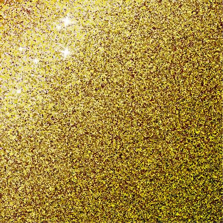 glam: Shiny gold glam texture. Vector background illustration. Illustration