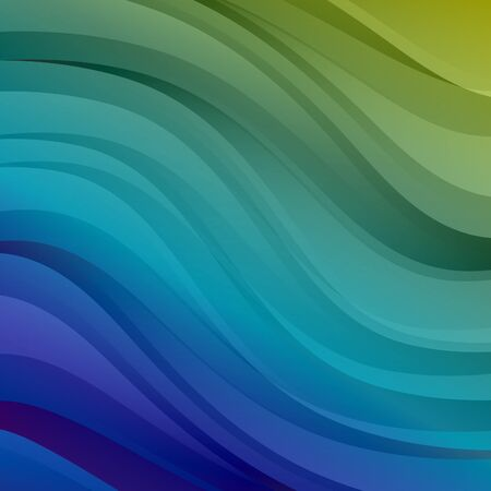 colorful background: Green and blue colorful vector abstract background